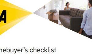 Homebuyers checklist